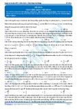 Luyện thi đại học KIT 2 môn Vật lí: Đề số 1 - Thầy Đặng Việt Hùng