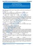 Luyện thi đại học KIT 2 môn Sinh học: Đề số 3 - GV. Nguyễn Quang Anh
