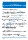 Luyện thi đại học KIT 2 môn Sinh học: Đề số 4 - GV. Nguyễn Thành Công