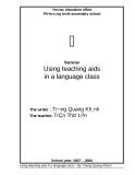 SKKN: Using teaching aids in a language class