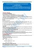 Hóa 12: Lý thuyết điện phân và tính pH của dung dịch điện phân (Tài liệu bài giảng) - GV. Phùng Bá Dương