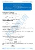 Hóa 12: Este vòng-bài toán este đồng phân (Tài liệu bài giảng) - GV. Phùng Bá Dương
