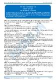Hóa 12: Tên Oxi sắt và muối sắt (Bài tập tự luyện) - GV. Phùng Bá Dương