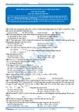 Hóa 12: Đồng phần este-bài toán este và các hợp chất khác (Bài tập tự luyện) - GV. Phùng Bá Dương