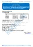 Hóa 12: Oxi hóa lipit-phản ứng cháy và xà phòng hóa (Tài liệu bài giảng) - GV. Phùng Bá Dương