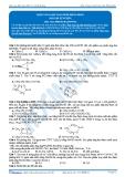 Hóa 12: Este vòng-bài toán este đồng phân (Bài tập tự luyện) - GV. Phùng Bá Dương