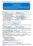 Hóa 12: Hợp kim và ăn mòn kim loại (Bài tập tự luyện) - GV. Phùng Bá Dương