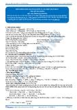 Hóa 12: Đồng phần este-bài toán este và các hợp chất khác (Tài liệu bài giảng) - GV. Phùng Bá Dương