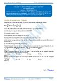 Hóa 12: Faraday và phương pháp bảo toàn electron (Tài liệu bài giảng) - GV. Phùng Bá Dương
