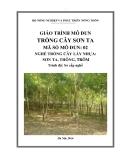 Giáo trình Trồng cây Sơn ta - MĐ02: Trồng cây lấy nhựa Sơn ta, Thông, Trôm