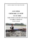Giáo trình Chăm sóc cá nuôi - MĐ03: Nuôi cá lồng bè nước ngọt (cá chép, cá trắm cỏ)