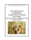 Giáo trình Nuôi dưỡng và bảo vệ rừng tràm - MĐ03: Nhân giống và trồng tràm trên vùng đất ngập phèn