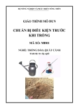 Giáo trình Chuẩn bị điều kiện trước khi trồng - MĐ01: Trồng đào, quất cảnh