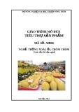 Giáo trình Tiêu thụ sản phẩm - MĐ06: Trồng xoài, ổi, chôm chôm