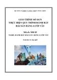 Giáo trình Thực hiện quy trình đánh bắt hải sản bằng lưới vây - MĐ03: Đánh bắt hải sản bằng lưới vây