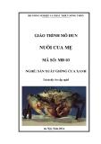 Giáo trình Nuôi cua mẹ - MĐ03: Sản xuất giống cua xanh