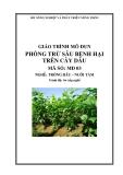 Giáo trình Phòng trừ sâu bệnh hại trên cây dâu - MĐ03: Trồng dâu – nuôi tằm