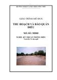 Giáo trình Thu hoạch và bảo quản điều - MĐ05: Kỹ thuật trồng điều