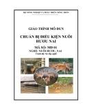Giáo trình Chuẩn bị điều kiện nuôi hươu, nai - MĐ01: Nuôi hươu, nai