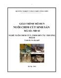 Giáo trình Nuôi chim cút sinh sản - MĐ03: Nuôi chim cút, chim bồ câu thương phẩm
