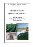 Giáo trình Định hướng sản xuất - MĐ01: Quản lý trang trại