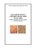 Giáo trình Chế biến ruốc khô - MĐ04: Chế biến hải sản khô