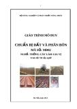 Giáo trình Chuẩn bị đất và phân bón - MĐ02: Trồng cây làm gia vị