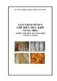 Giáo trình Chế biến mực khô - MĐ02: Chế biến hải sản khô