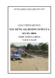 Giáo trình Xây dựng ao, ruộng nuôi cua - MĐ01: Nuôi cua đồng