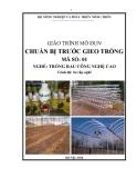 Giáo trình Chuẩn bị trước gieo trồng - MĐ01: Trồng rau công nghệ cao