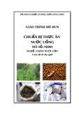 Giáo trình Chuẩn bị thức ăn nước uống - MĐ03: Chăn nuôi cừu