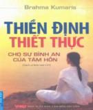 Ebook Thiền định thiết thực: Phần 1 - Brahma Kumaris