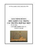 Giáo trình Điều khiển tàu trong các trường hợp đặc biệt - MĐ04: Điều khiển tàu cá
