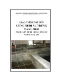 Giáo trình Ương nuôi ấu trùng - MĐ06: Sản xuất giống tôm sú