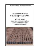 Giáo trình Chuẩn bị vườn ươm - MĐ01: Nghề sản xuất cây giống cao su, cà phê, hồ tiêu