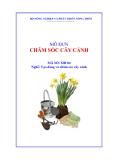 Giáo trình Chăm sóc cây cảnh - MĐ04: Tạo dáng và chăm sóc cây cảnh