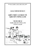 Giáo trình Kiến thức cơ bản về khuyến nông lâm - MĐ01: Khuyến nông lâm