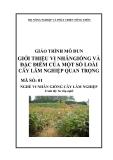 Giáo trình Giới thiệu vi nhân giống và đặc điểm của một số loài cây lâm nghiệp quan trọng - MĐ01: Vi nhân giống cây lâm nghiệp