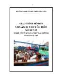 Giáo trình Chuẩn bị chuyến biển - MĐ02: Câu vàng cá ngừ đại dương