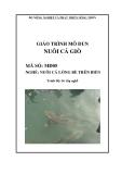 Giáo trình Nuôi cá giò - MĐ05: Nuôi cá lồng bè trên biển