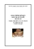 Giáo trình Sản xuất patê - MĐ03: Chế biến các sản phẩm từ thịt gia súc