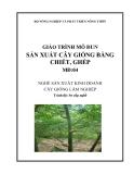 Giáo trình Sản xuất cây giống bằng chiết, ghép - MĐ04: Sản xuất kinh doanh cây giống lâm nghiệp