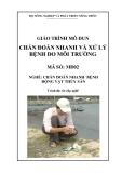 Giáo trình Chẩn đoán nhanh và xử lý bệnh do môi trường - MĐ02: Chẩn đoán nhanh bệnh động vật thủy sản