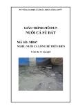 Giáo trình Nuôi cá sủ đất - MĐ07: Nuôi cá lồng bè trên biển