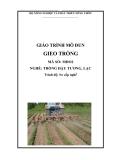 Giáo trình Gieo trồng - MĐ02: Trồng đậu tương, lạc