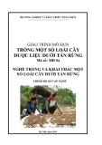 Giáo trình Trồng một số loài cây dược liệu dưới tán rừng - MĐ04: Trồng và khai thác một số loài cây dưới tán rừng