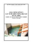 Giáo trình Lấy nước biển nồng độ cao - MĐ01: Sản xuất muối công nghiệp