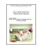 Giáo trình Thuốc dùng cho lợn - MĐ02: Nuôi và phòng trị bệnh cho lợn