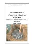Giáo trình Ương nuôi cá giống - MĐ05: Sản xuất giống một số loài cá nước ngọt