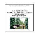 Giáo trình Bảo vệ thực vật trên cây tiêu - MĐ06: Trồng hồ tiêu